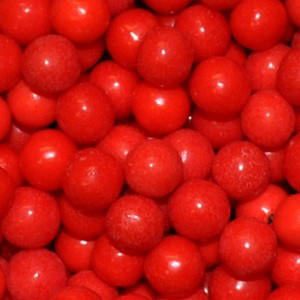 85 GM 7 MM RED PEARL CANDIES