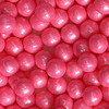 PEARLS CANDIES 7MM SHIMMER BRIGHT PINK
