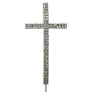 CROSS BLING SILVER PICK CRUCIFIX