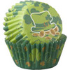 SHAMROCK MINI BAKING CUPS - 100 PIECES