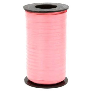 500 YD CURLING RIBBON IN CORAL