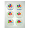 CANADA DAY LOGO 150 150TH 3 INCH PACK ROUND EDIBLE IMAGE PAPER COOKIE