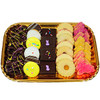 COOKIES EASTER TRAY BROWNIE PRETZEL RING SUGAR