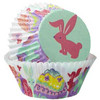 WILTON PEEK-A-BOO STANDARD BAKING CUPS - 75 PIECES
