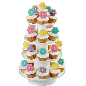 WILTON 4-TIER STACKED DESSERT TOWER STAND
