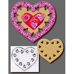 "7.5"" CUTOUT HEART CUTTER"