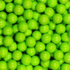 CANDY BALLS CHOCOLATE GREEN LIME 10MM