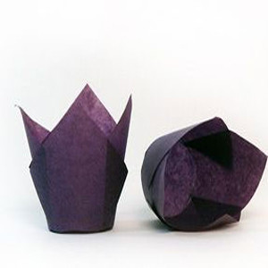 200 PKG STANDARD PURPLE TULIP CUPS