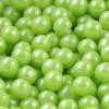300 GM 7 MM LIME GREEN SHIMMER PEARL CANDIES