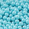 300 GM 7 MM POWDER BLUE SHIMMER PEARL CANDIES
