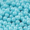100 GM 7 MM POWDER BLUE SHIMMER PEARL CANDIES