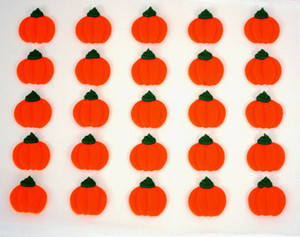 "150 PKG 1"" #2 ROYAL ICING MINI PUMPKINS"