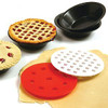 4 Mini Pie Pans & 2 Pie Top Cutters