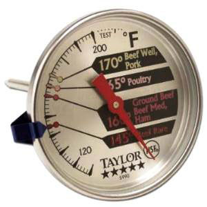 TAYLOR PRO DIAL THERMOMETER FOR MEAT