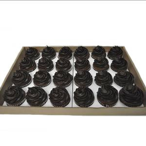 24 PACK ICED CHOCOLATE CUPCAKES