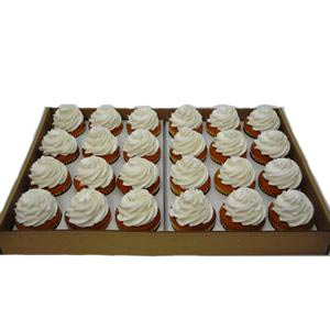 24 PACK ICED VANILLA CUPCAKES
