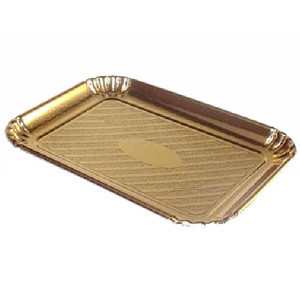 10 PKG GOLD TRAYS #2