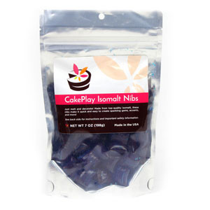 CAKE PLAY ISOMALT NIBS - BLUE
