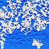 MIDNIGHT GARDEN ICING LACE MAT