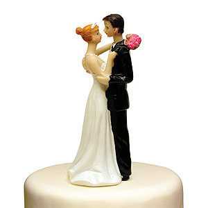 TO HAVE AND TO HOLD CAKE TOPPER BRIDE GROOM WEDDING