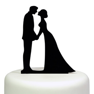 MAGIC KISS CAKE TOPPER BRIDE GROOM WEDDING ENGAGEMENT ANNIVERSARY