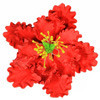 "1 PC 4 1/2"" RED GUM PASTE PEONY"