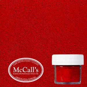 Red Dusting Powder For Cake Decorating Mccall S