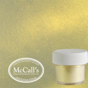 PEARL LUSTER GOLD SHIMMER POWDER EDIBLE