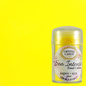 DUSTING YELLOW LEMON LEMONADE SOO INTENSE POWDER EDIBLE