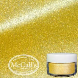 PEARL LUSTER DUST SHIMMER POWDER EDIBLE YELLOW SUNSET GOLD