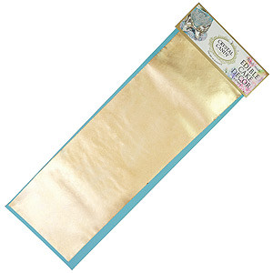 EDIBLE FABRIC PAPER SATIN GOLD