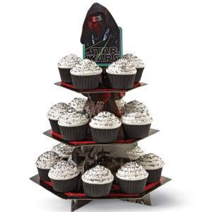 STAR WARS 7 CUPCAKE AND TREAT STAND