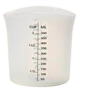 SILICONE MEASURING CUP 2 CUPS