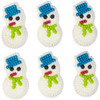 WILTON ICING DECORATION - SNOWMAN
