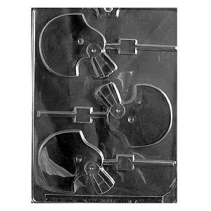 "3"" FOOTBALL HELMET LOLLY MOLD"