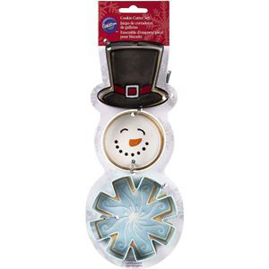 3 PKG COLOURED WINTER CUTTER SET BY WILTON
