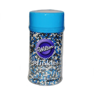 85 G PEARLIZED WINTER MIX BY WILTON