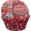 PACK OF 75 STANDARD RUDOLPH BAKING CUPS