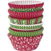 PACK OF 150 STANDARD  ASSORTED HOLIDAY BAKING CUPS