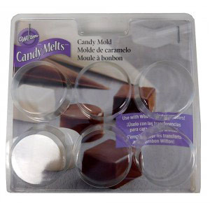 WILTON CANDY MOLD ROUND & SQUARE