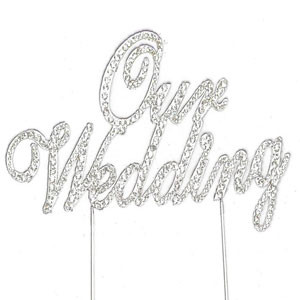 BLING PICK - OUR WEDDING IN SILVER