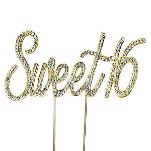 BLING PICK SWEET SIXTEEN GOLD 16