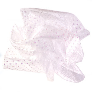 WHITE GLIMMER TULLE - 1 YARD