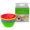 SILICONE BAKING CUPS RAINBOW COLOURS COLORS
