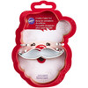 WILTON SANTA FACE 2 PIECE CUTTER SET