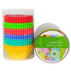 BAKING CUPS GREASEPROOF RAINBOW ASSORTMENT