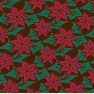 CHOCOLATE TRANSFER - POINSETTIAS