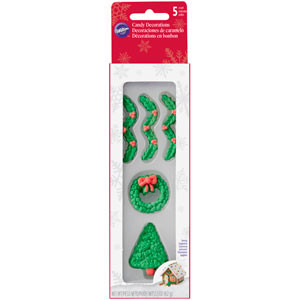 WILTON GINGERBREAD HOUSE TRIMMING ICING DECORATIONS