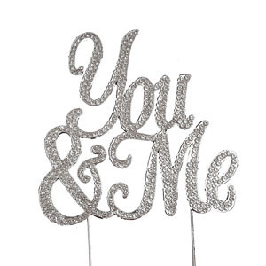 BLING PICK - YOU & ME IN SILVER