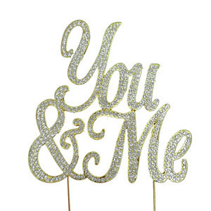 BLING PICK - YOU & ME IN GOLD